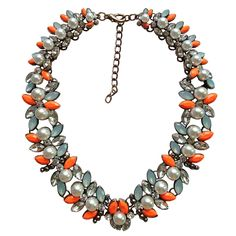 New Arrival fashion Z bib collar necklace & pendant chunky luxury bubble pearl pendant choker Necklace statement  jewelry women $9.98