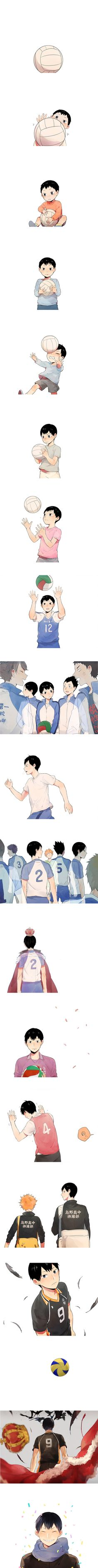 Tobio Kageyama | Haikyuu!! | Omg this is so cute