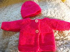 Cute little baby jacket - perfect for boy or girl premature babies ….