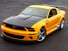 Ford Mustang, the best muscle car in the world.