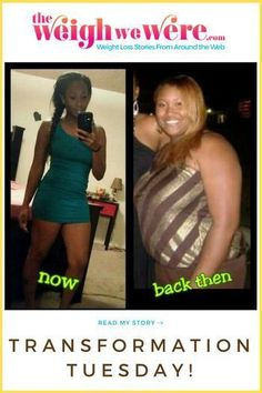 Motivational story! Her gorgeous body is strong not skinny. Read black women weight loss transformations and before and after fitness inspiration at TheWeighWeWere.com. Gym, yoga and natural hair styles for classy African American plus size women looking #weightlossbeforeinspiration