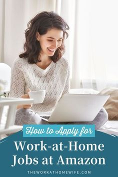 How to apply for a Work at home job at Amazon. Check out our tips to get hired and start working from home! | The Work at Home Wife Work From Home Opportunities, Work From Home Jobs, Make Money From Home, Make Money Online, How To Make Money, Amazon Mechanical Turk, Amazon Jobs, How To Apply