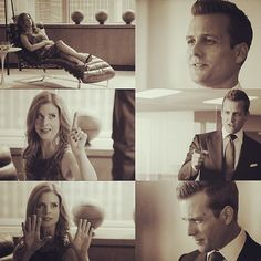 lovefornicky's photo on Instagram #Darvey perfection Suits usa