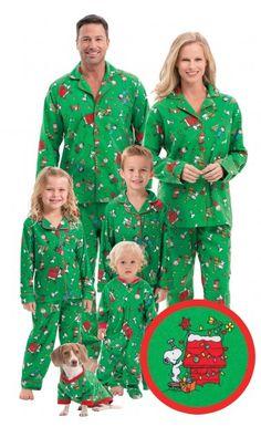 Charlie Brown Christmas Matching Family Pajamas Main Image Peanuts  Christmas 9a641ce98