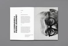 Maybe it's Great is part of Book design layout - The Legacy of Le Corbusier designed by Enle Li Le Corbusier, Editorial Design Layouts, Page Layout Design, Magazine Layout Design, Magazin Design, Buch Design, Publication Design, Print Layout, Design Graphique