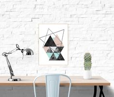 Geometric Print, Abstract Art, Geometric Art, Minimalist Art, Scandinavian Print, Mid Century Modern Print, Abstract Poster, Minimal Print by paperblooming on Etsy https://www.etsy.com/listing/251480274/geometric-print-abstract-art-geometric