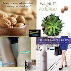 Exfoliate the way you never before. Nu Skin, Chicken Skin, Walnut Shell, Close Shave, Body Bars, Lighten Skin, Shaving, Bliss Beauty, Skin Care