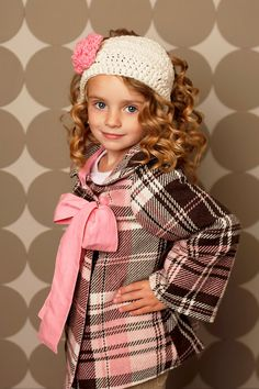 Little Girl Swing Cocktail Dress Coat