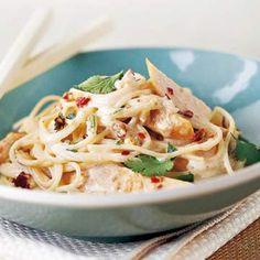 Thai Chicken Pasta Recipe | Food Recipes - Yahoo! Shine