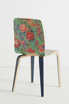 Slide View: Liberty for Anthropologie Tamsin Dining Chair Paradise Garden, Liberty Print, William Morris, Design Crafts, Home Goods, Anthropologie, Dining Chairs, Interior Decorating, Hand Painted