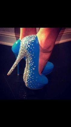 Blue and diamond stones