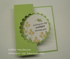 Debbie's Designs: Half-Cut Die Tutorial