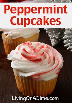 Peppermint Cupcakes Recipe - 10 Of The BEST Cupcake Recipes