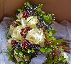 Wedding Flowers Blog: Nikki's Winter Wedding Flowers, Marriott Meon Valley