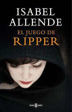 """Reseña """"El juego de Ripper"""" de Isabel Allende http://hidden-book.blogspot.com.es/2015/04/resena-el-juego-de-ripper-isabel-allende.html"""