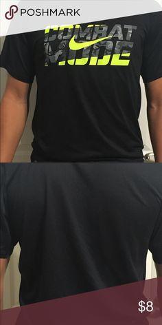 Men's Nike shirt Black and green men's Nike shirt Nike Shirts Tees - Short Sleeve