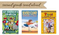 Elementary read aloud books for second, third, fourth, fifth, and sixth grade.