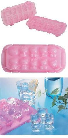 Hello Kitty & Friends Ice Mold- I have this! (Still have no idea how to use it. Hello Kitty Kitchen, Hello Kitty House, Desu Desu, Kawaii Cute, Kawaii Stuff, Ice Molds, Hello Kitty Items, Sanrio Characters, My Melody