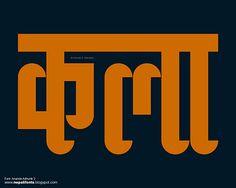 Various Nepali Devanagari Fonts by Ananda K. Maharjan