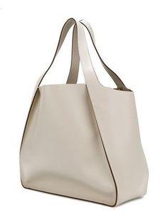 Stella McCartney Bolsa Tote & # Stella & # Com Logo - DIY Tasche Shnittmuster Backpack Pattern, Tote Backpack, Tote Bag, Backpack Handbags, Leather Purses, Leather Handbags, Leather Bag, Leather Totes, Mochila Tote