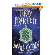 I think is the first Terry Pratchett novel I read. It remains one of my favorite books.