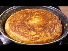 tasty spanish potato omelette - cooking easy food recipes for dinner to make at home - YouTube