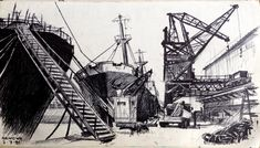 Genoa Dockyard – by Gary Drostle