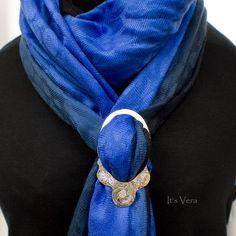NEW Mega scarf ring pashmina rings shawl rings scarf by ItsVera