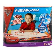 Cars II AquaDoodle Mat  Aquadoodle brings the magic of Cars II to your finger tips! The Cars II Aquadoodle Mat never makes a mess and never runs out! Just add water to Lightning McQueen and start racing around the mat. http://Toysfor2013.com