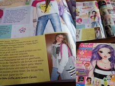 CaroS Fashion FUN and DIY: TOPModel Zeitschrift mit meinem Artikel