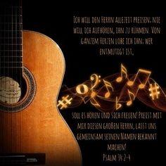 #loben #preisen #lobpreis #gott #jesus #herr #christus #heiligerGeist #psalm #david #königdavid #bibel #bibelvers #stewi #psalm34 Psalm 34, Music Instruments, Instagram, King David, Holy Spirit, God, Musical Instruments