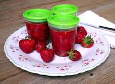 Easy Peasy Strawberry Freezer Jam