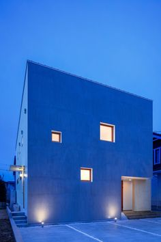 Modern home located in Moriya city, Ibaraki Prefecture. Ibaraki, Modern House Design, Desktop Screenshot, City, Projects, Home, Attic Conversion, Log Projects, Blue Prints