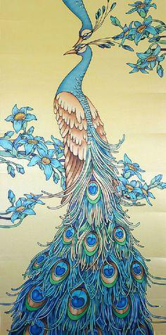 Ancient time, batik by Master SilkSkif, Alphonse Mucha, Art, artist, colors, beautiful, Klimt, history, painting, prehistoric world, Russian artist