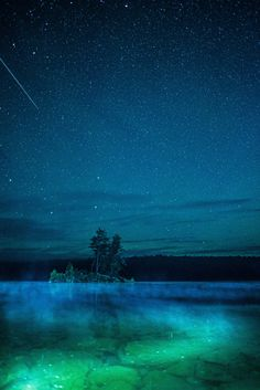 Calm lake north of Elliot Lake Ontario [OC][2670x4000)