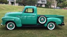 Auction Lot Harrisburg, PA Body-off restoration. Photos and records of restoration Chevrolet 3100, Chevrolet Trucks, Pick Up, Classic Trucks, Classic Cars, 1954 Chevy Truck, Vintage Trucks, Cool Trucks, Old Cars