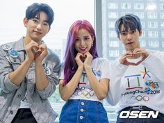 NCT Doyoung, BLACKPINK Jisoo and GOT7 JinYoung