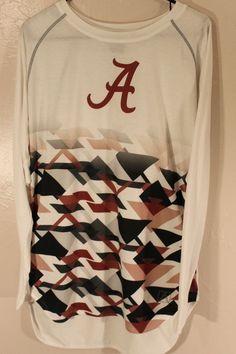 de167bfd6 ACRUX Women s Long Sleeve Shirt Sz Medium Crimson Roll Tide Alabama Logo  EUC  Acrux