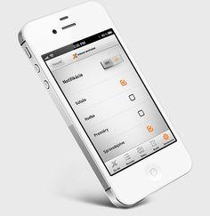 Radio Expres iOS app by Martin Schurdak, via Behance
