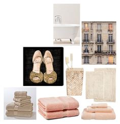 """""""Bathroom"""" by stacylovespink on Polyvore featuring interior, interiors, interior design, home, home decor, interior decorating, Pigeon & Poodle, Home City, Zara Home and Nine Space"""