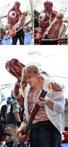 Resident Evil William Birkin first form, World Cosplay Summit 2016 (by gai cosplay)