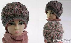 Ravelry: Designs by Katerina Mushyn Knitting Videos, Knitting Projects, Knit Crochet, Crochet Hats, Hat Tutorial, Crochet Tablecloth, Double Knitting, Knit Fashion, Knitted Hats