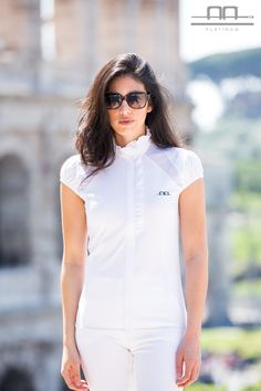 AA Platinum Collection S/S16: Jina Short Sleeve Lady Competition Shirt