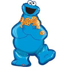 Sesame Street Cookie Monster SuperShape Foil Balloon