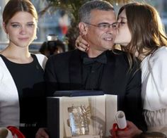 French Lesbian Movie 'Blue is the Warmest Color' 'Wins Top Prize at Cannes http://www.opposingviews.com/i/celebrities/french-lesbian-movie-blue-warmest-color-wins-top-prize-cannes
