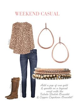 Fall weather outfit