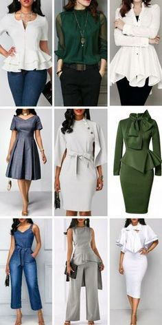 48f47b582a Chic work dresses, work outfits, office attire for women, choose one to  update