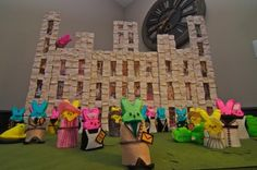 Downton Abbey Peep Diorama.  #PBS