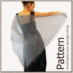 Wrapped in Lace Shawl - Crochet Pattern. $4.99, via Etsy.