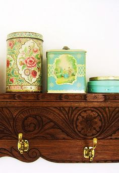 tins  .by silly old suitcase via Flickr.